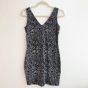 Basic B&W Dress